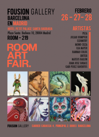 Flyer – Room Art Fair Madrid 2016