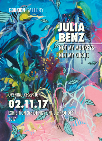 Flyer – Not My Monkeys, Not My Circus – Fousion Gallery
