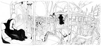 Will Barras – The Architect Triptych – Fousion Gallery
