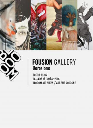 Blooom Art Show at Art Fair Cologne 2016 – Fousion Gallery – Flyer