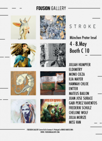 Flyer – Stroke Urban Art Fair Munich 2016