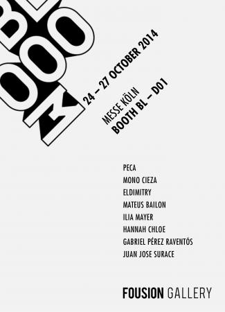 Blooom Art Fair Cologne 2014 – Fousion Gallery – Flyer