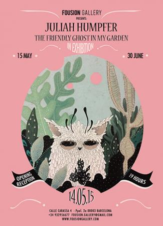 Flyer – Juliah Humpfer: The Friendly Ghost In My Garden