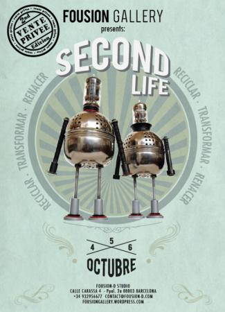 Vente Priveé: Second Life – Fousion Gallery – Flyer