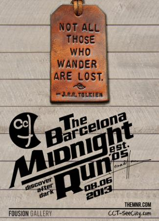 Flyer – The Barcelona Midnight Run