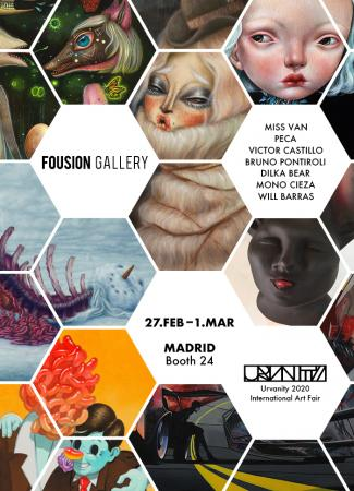 Flyer – Urvanity International Art Fair Madrid 2020