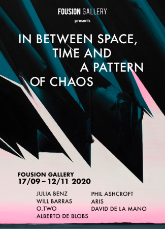 Flyer – In Between Space, Time and a Pattern of Chaos