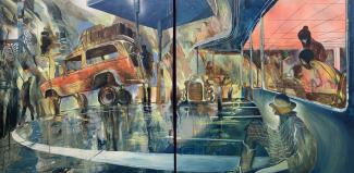 Will Barras – Land Cruiser (Diptych) – Fousion Gallery