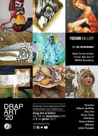 Fousion Gallery Flyer DrapArt'20