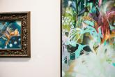 Julia Benz at Art Fair Luxembourg / Foto: Astrid Piethan